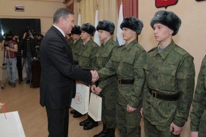На службу в Кремль