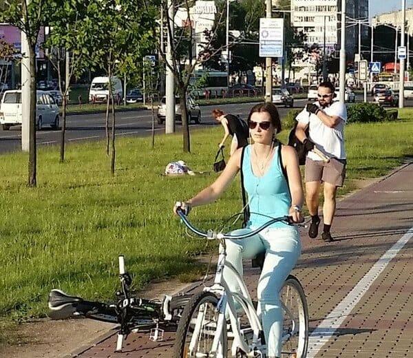Велосипедиста, избившего битой пешехода вМинске, будут судить