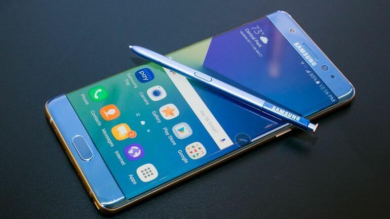 Компания Samsung неправильно тестировала батареи для Galaxy Note 7