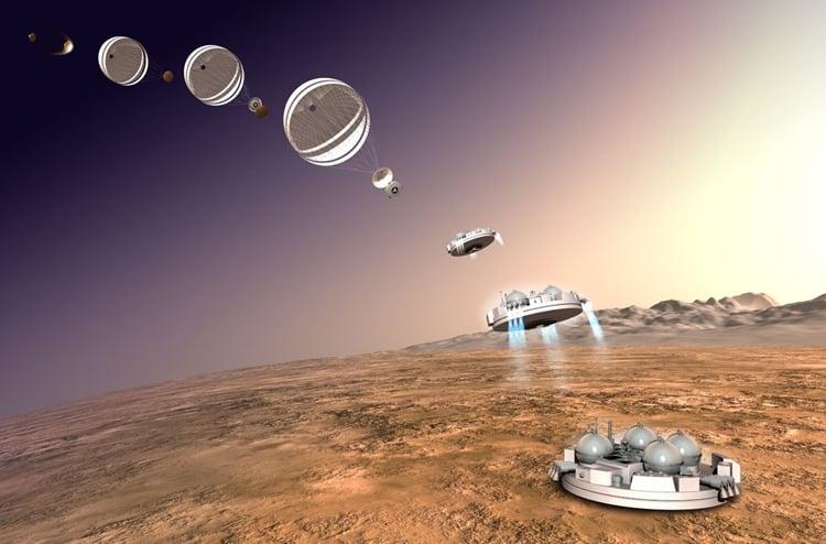 Модуль «ЭкзоМарс-2016» успешно разделился на подлете к Марсу