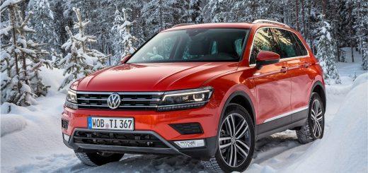 В начале 2017 года в Россию привезут новый Volkswagen Tiguan