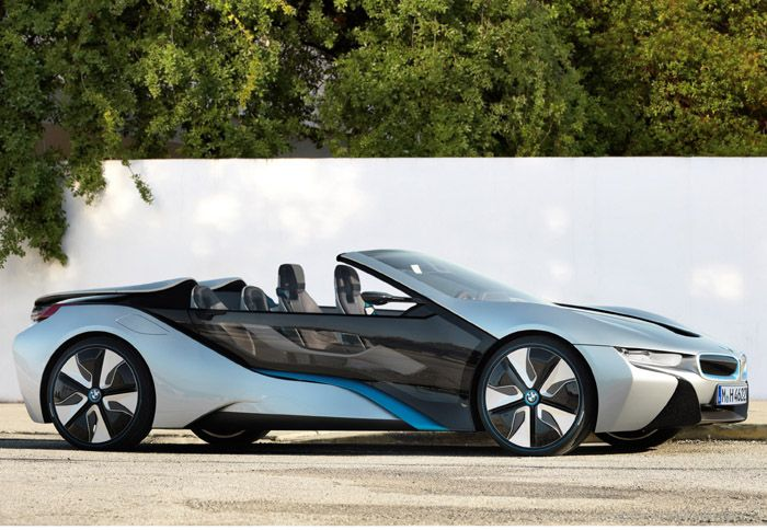 Через два года появится BMW i8 с открытым верхом