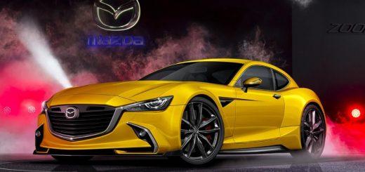 Mazda разрабатывает новое роторное купе Mazda RX-9