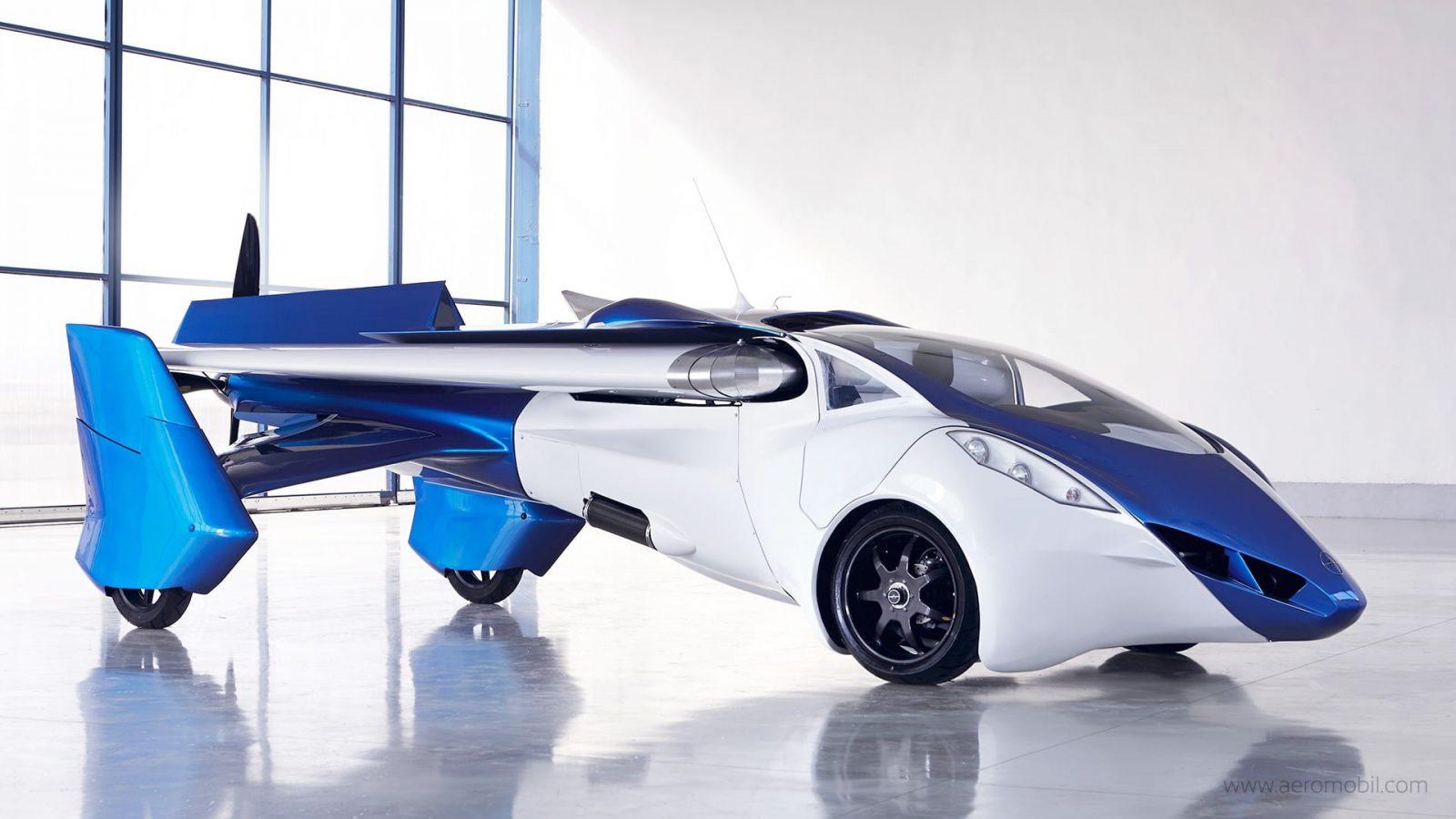 Первый летающий автомобиль AeroMobil 3.0 будет стоить 200 тысяч евро