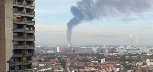 На химическом заводе BASF в Германии произошел взрыв