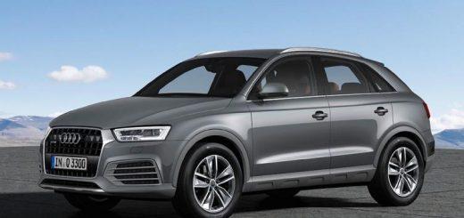 Стала известна стоимость кроссовера Audi Q3 после рестайлинга