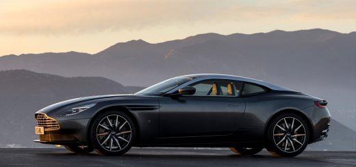 В Москве прошла презентация спорткара Aston Martin DB11