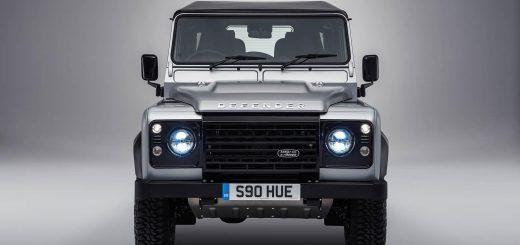 В 2019 году начнет продаваться новое поколение Land Rover Defender