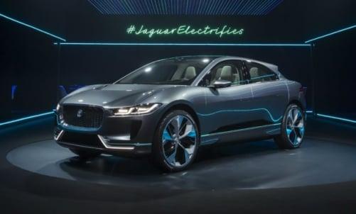 Jaguar показал свой первый электрический кроссовер