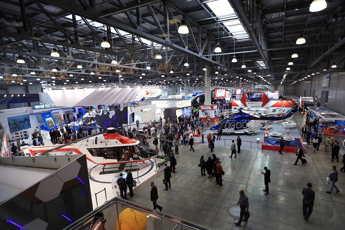 11 международная выставка вертолетной индустрии Helirussia 2018