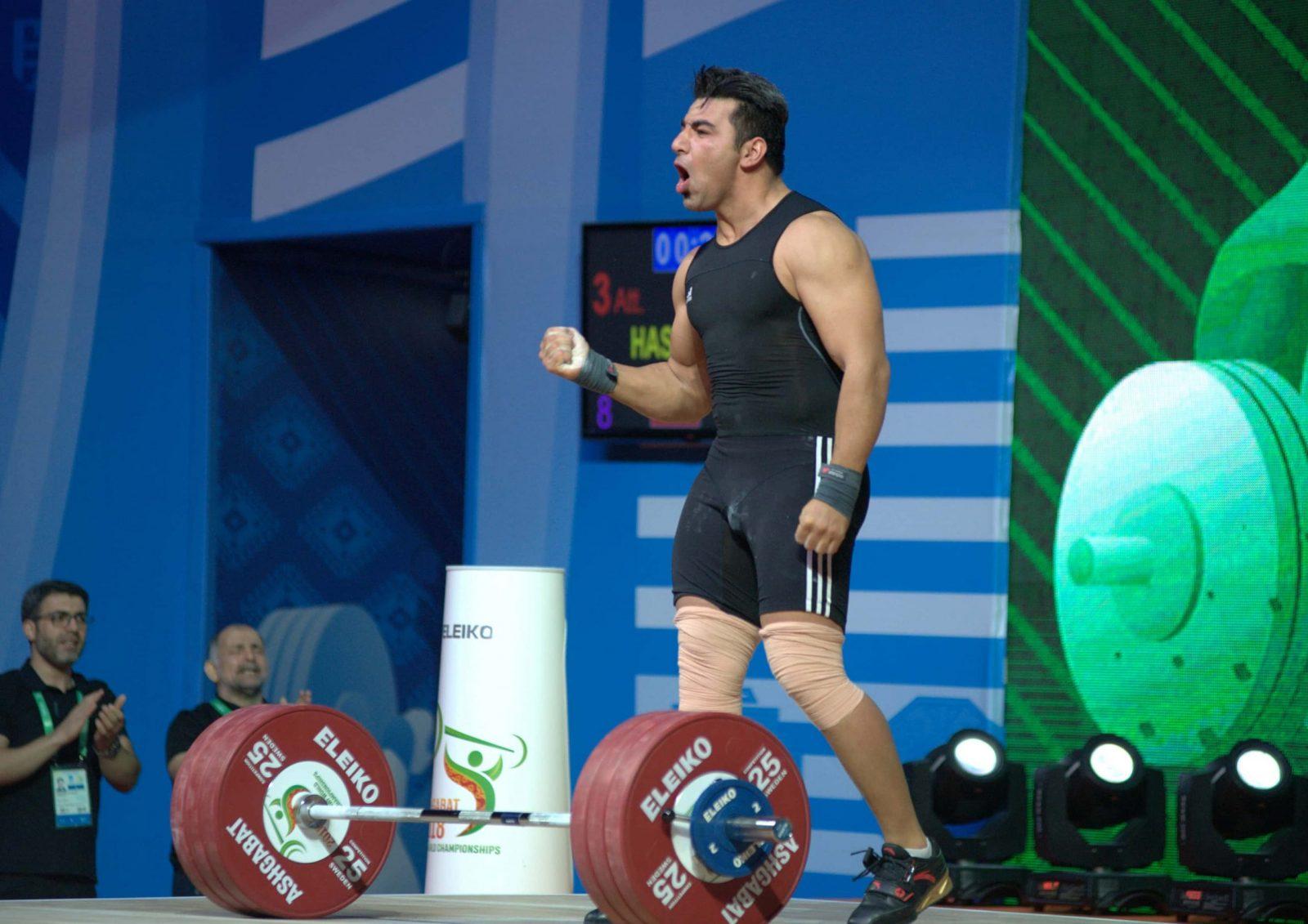 Снова золотая медаль – и снова Хашами