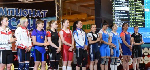 Первые медали на Чемпионате России по тяжелой атлетике.