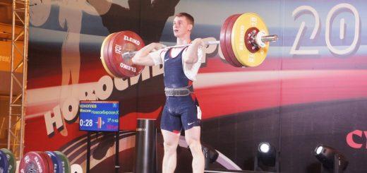 Новосибирский штангист Коноплев выиграл три золота на домашнем чемпионате России