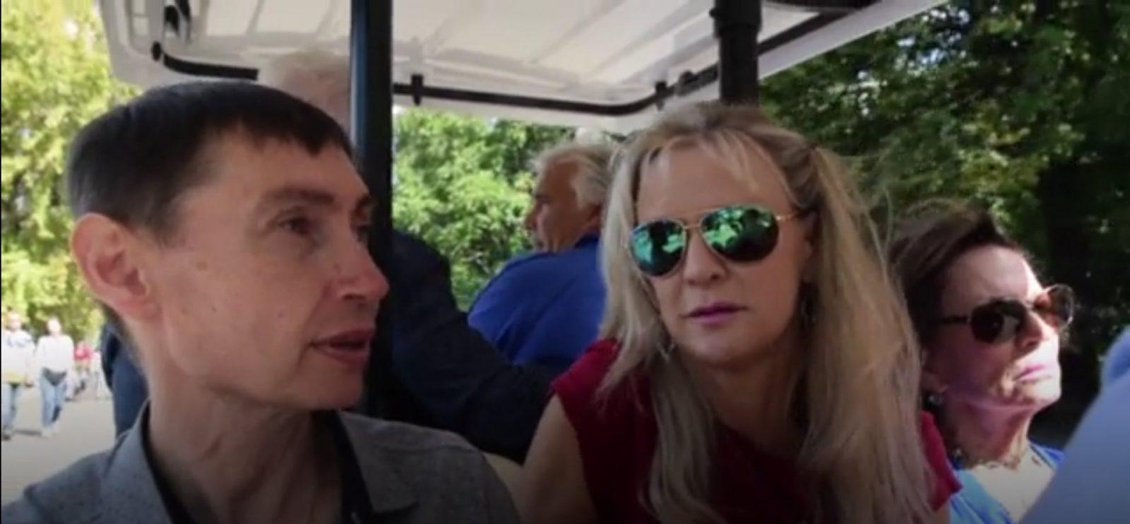 Полузабытый герой: визит наследников Пола Андерсона в Москву 1