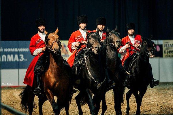 Международная конная выставка «Эквирос»