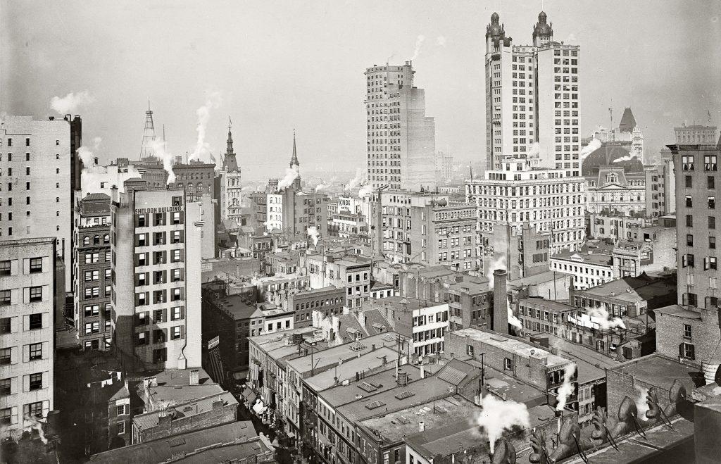 США, Нью-Йорк 1930-е