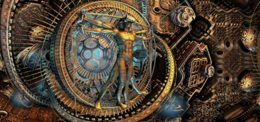 Mystic Universe Витрувианский человек