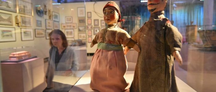 Выставка «ТЕАТР.RUS» Куклы