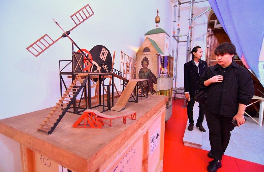 Выставка «ТЕАТР.RUS» макет