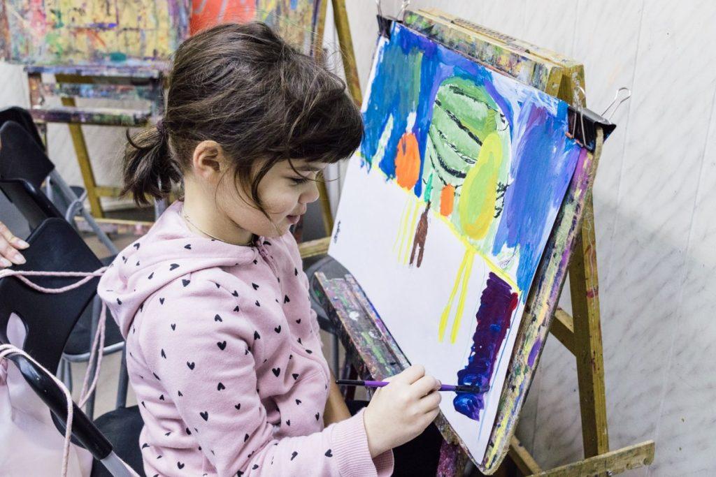Занятия в галерее «Изопарк»