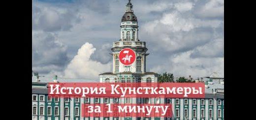 Санкт-Петербург: История Кунсткамеры за 1 минуту