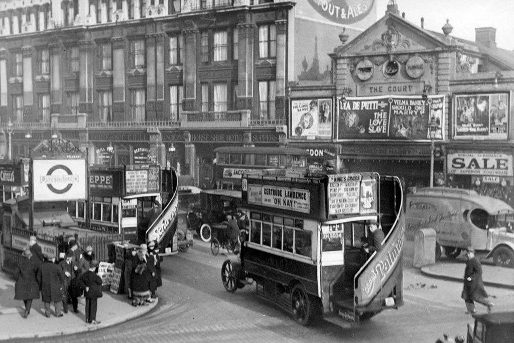 Лондон 1930-е