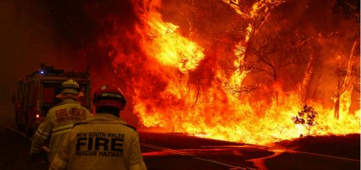 пожар австралия