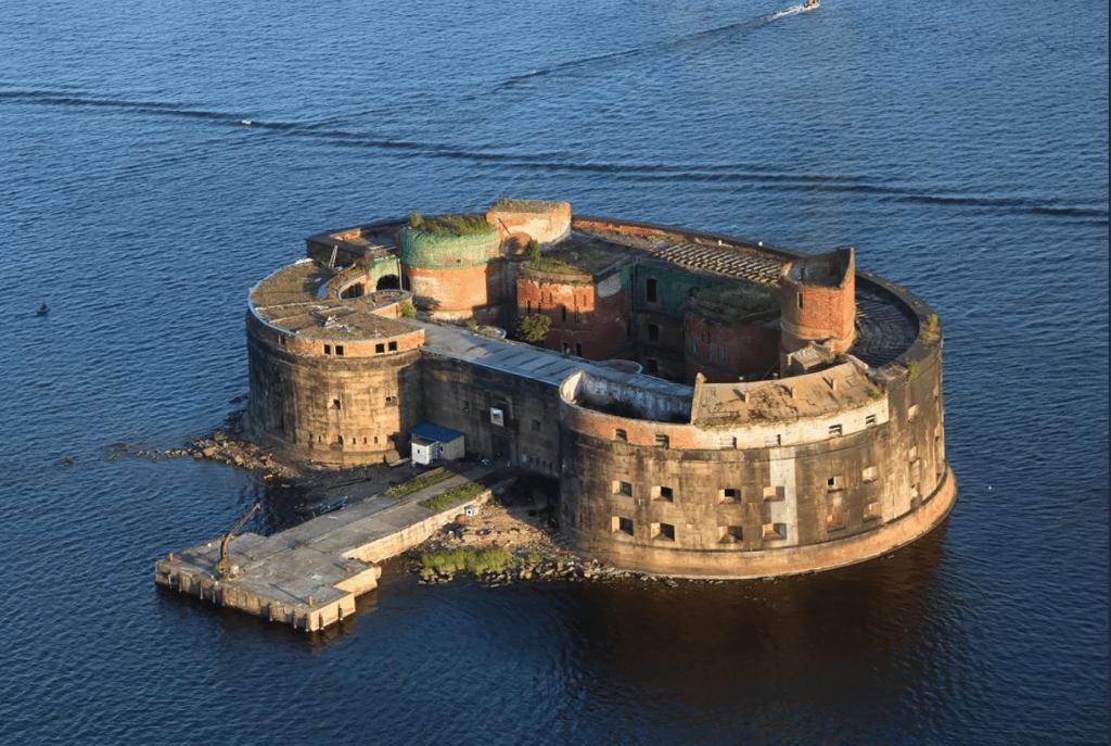 остров Котлин Санкт-Петербург
