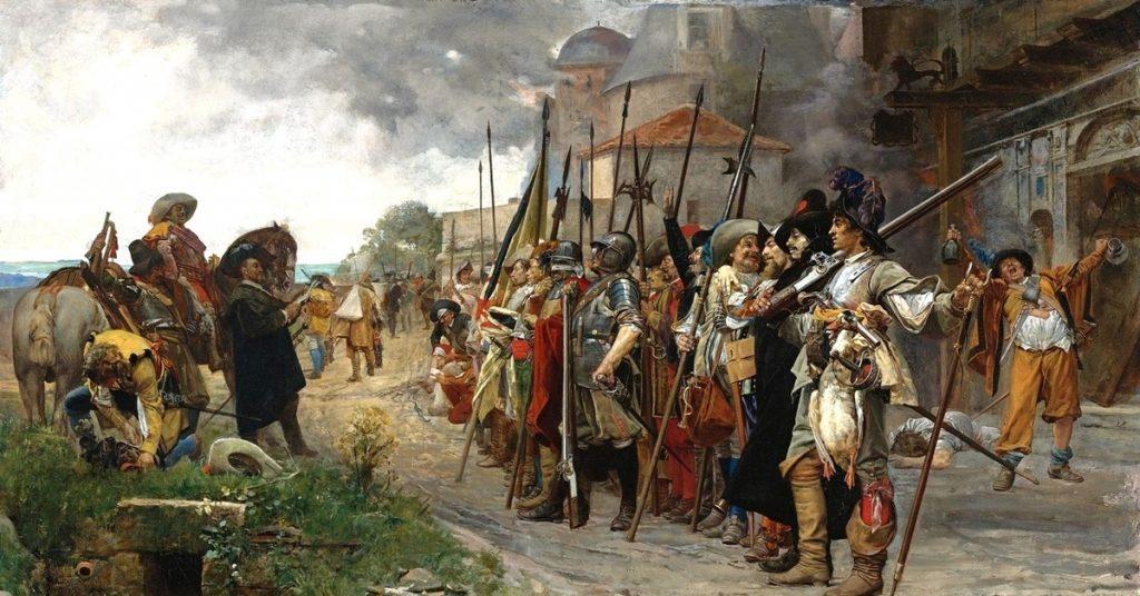 Тридцатилетняя война живопись