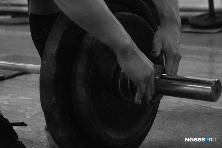 Тренировки у тяжелоатлетов