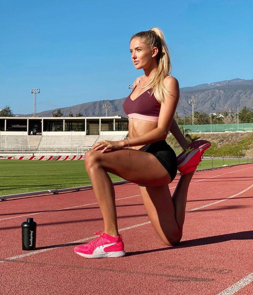 спорт тренировки девушки шмидт бег