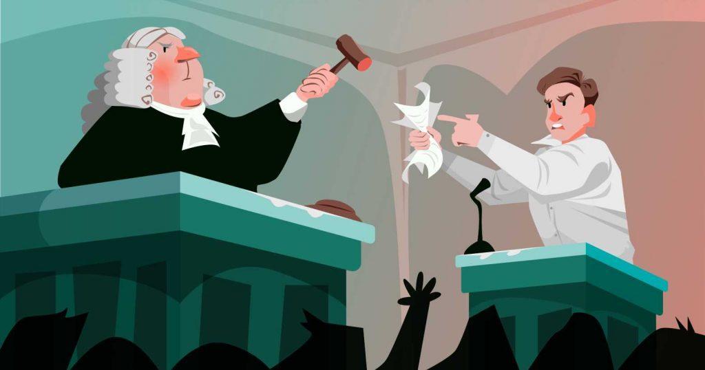 суд тяжба