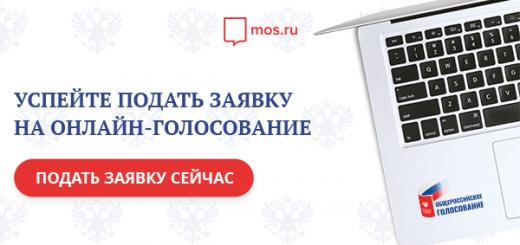 госулуги mos.ru конститутция