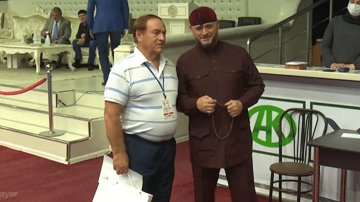 Олег Глебович Писаревский и Магомед Абдулхамидович Кадыров