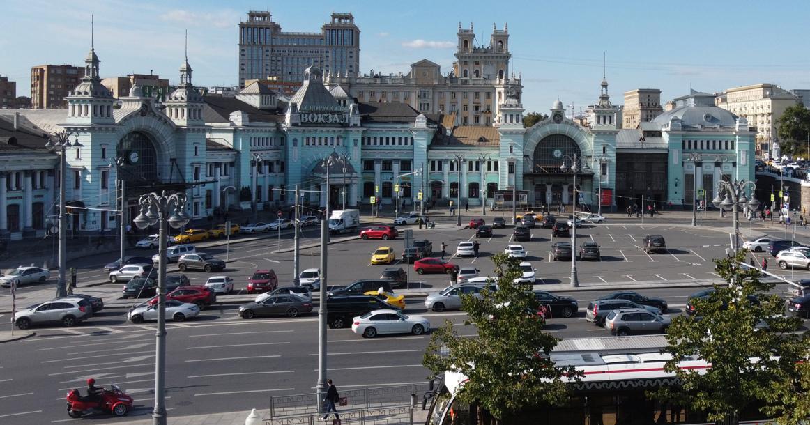 Сегодня Белорусскому вокзалу исполнилось 150.