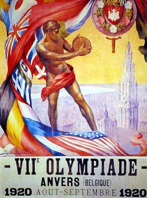 100 лет назад тяжелая атлетика входила в программу седьмой летней Олимпиады в Антверпене