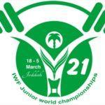Логотип чемпионата мира по тяжелой атлетике 2021