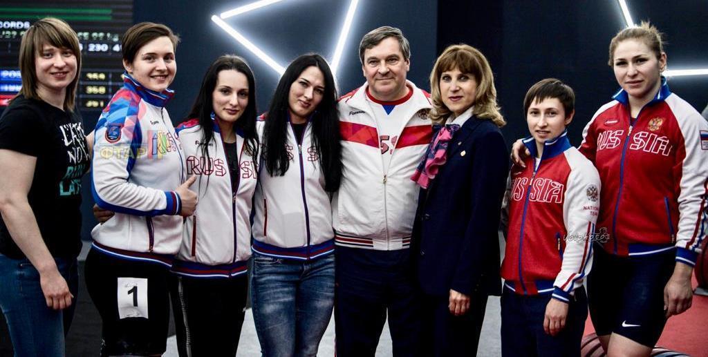 Российская женская команда ТА