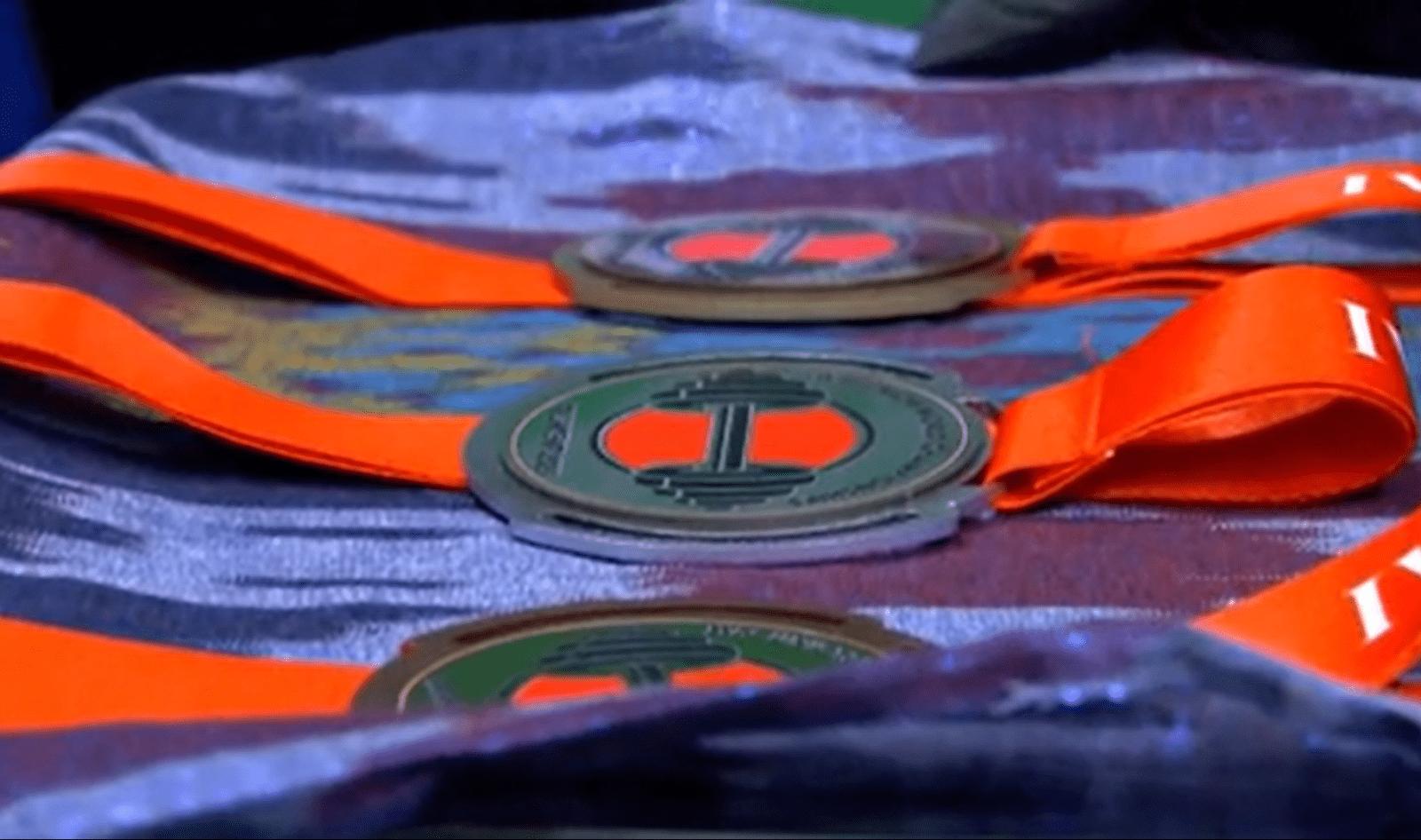 медали пераенства мира в Ташкенте